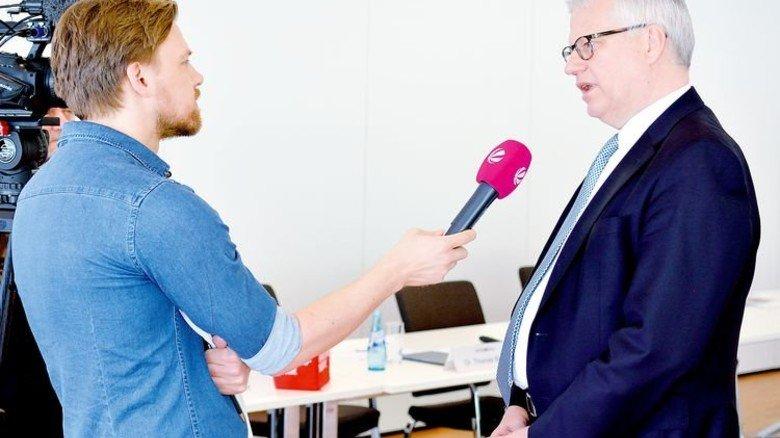 Erklärte die Umfrage-Ergebnisse: Thomas Brunn, stellvertretender Vorsitzender von Hessenmetall. Foto: Scheffler