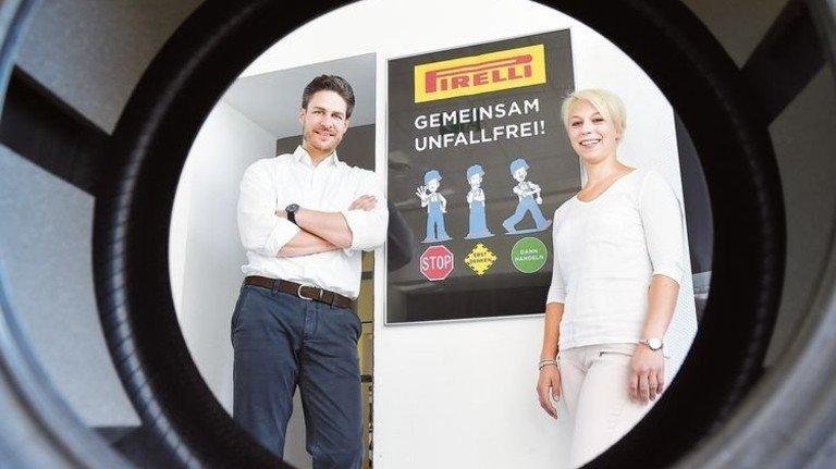 Setzen auf Vorbeugung: Michael Krautschneider und Isabell Hartmann haben ihre Kollegen sensibilisiert. Foto: Meinicke