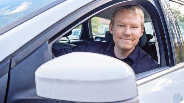 Auf Achse: Kommunalverbandschef Petri Rinne sieht in Migranten eine Chance für die finnische Provinz. Foto: Roth