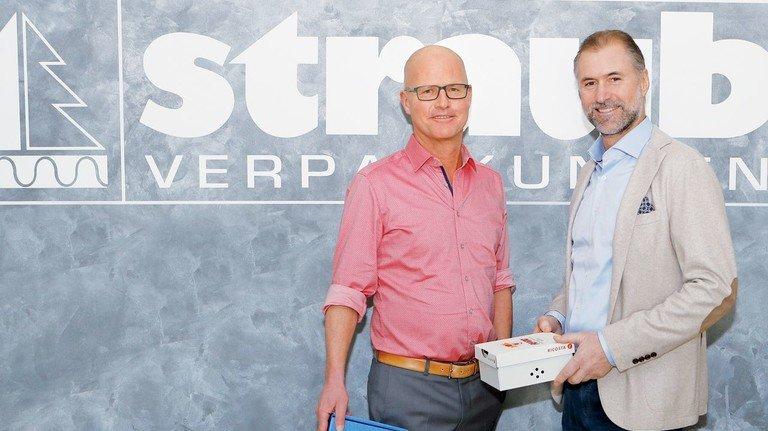 Überzeugte Familienunternehmer: Die Cousins Alexander (links) und Steffen Würth leiten Straub Verpackungen in der siebten Generation.