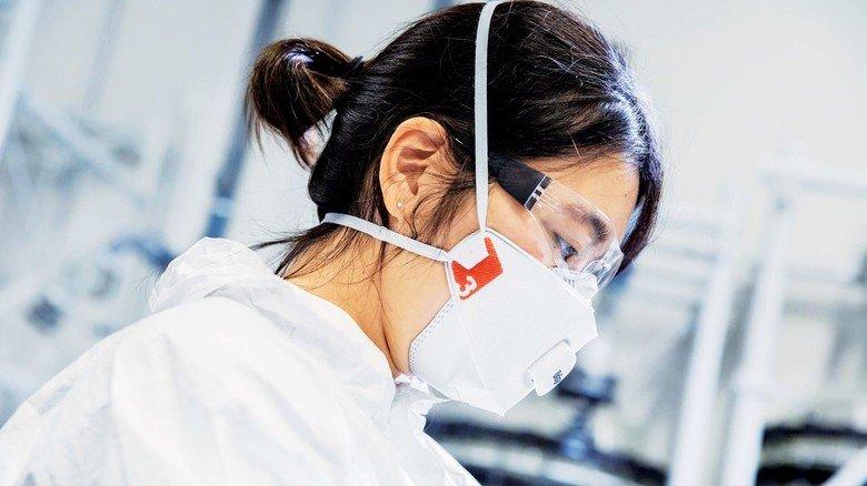 Gefragt: Masken vom Typ FFP helfen beim Schutz vor Infektionen.