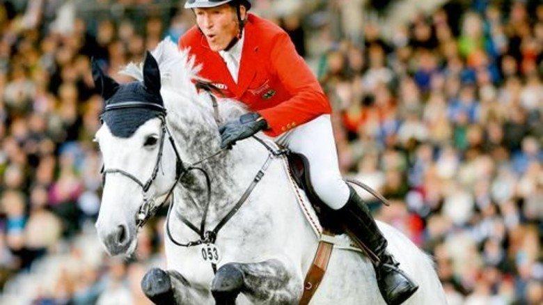 Hofft auf Gold: Springreiter Ludger Beerbaum, hier mit seinem Pferd Chiara. Foto: Werk
