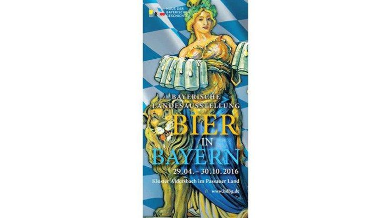 Wissenswertes: Ausstellung zur Biergeschichte im Kloster Aldersbach bei Passau. Foto: HDBG