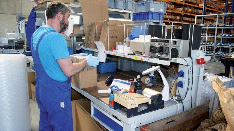 Witte Pumpen: Der Betrieb hat ein Zweischichtsystem eingeführt, um das Infektionsrisiko für die Beschäftigten zu minimieren.