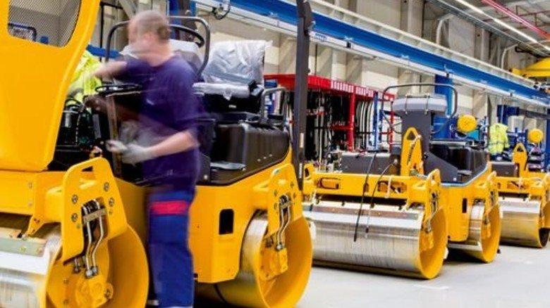 Produktion in Hameln: Maschinen für den Straßenbau. Foto: Küstner