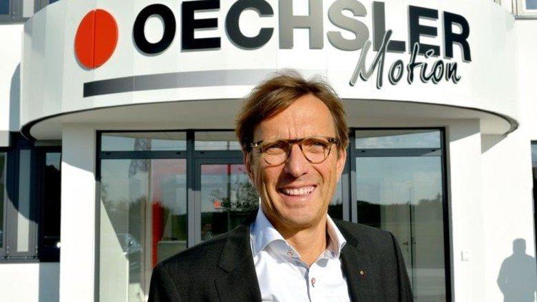 """Wolf Matthias Mang: """"Die Speedfactory ist etwas Einmaliges und wird weltweit Schule machen."""" Foto: Scheffler"""