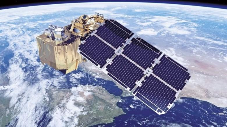 """Super-Satellit: """"Sentinel 2B"""" ist Baden-Württemberger. Er überwacht seit kurzem für uns die Erde. Foto: ESA"""