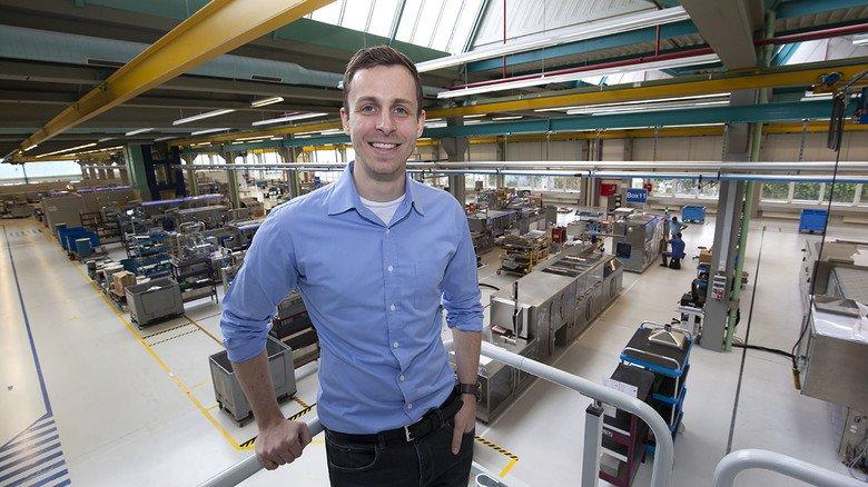 Wahlheimat: Der Ingenieur David Kleine-Hegermann kam vor zwei Jahren aus Bochum nach Laupheim zu Uhlmann.