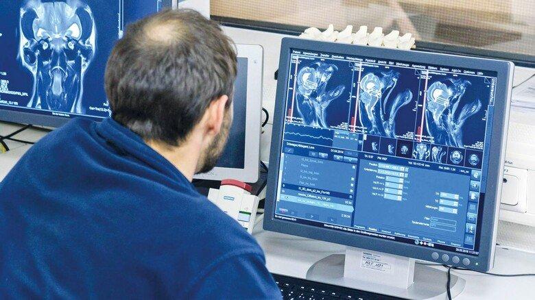 Diagnose: Mit künstlicher Intelligenz lassen sich MRT-Bilder auch automatisch auswerten.