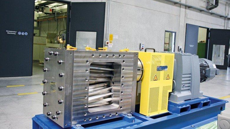 Kraftpaket: Witte-Pumpen mit Schrägverzahnung können bei Drücken bis 250 Bar eingesetzt werden.
