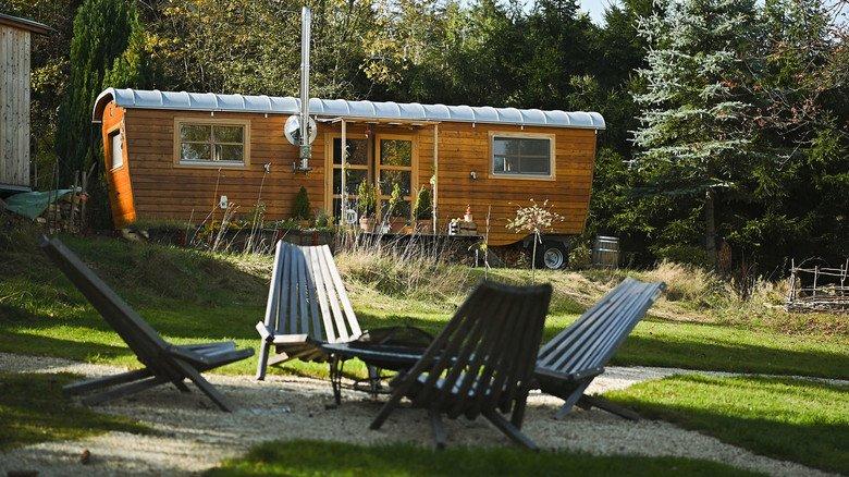 Leben auf engstem Raum: Tiny Houses sind gefragt.