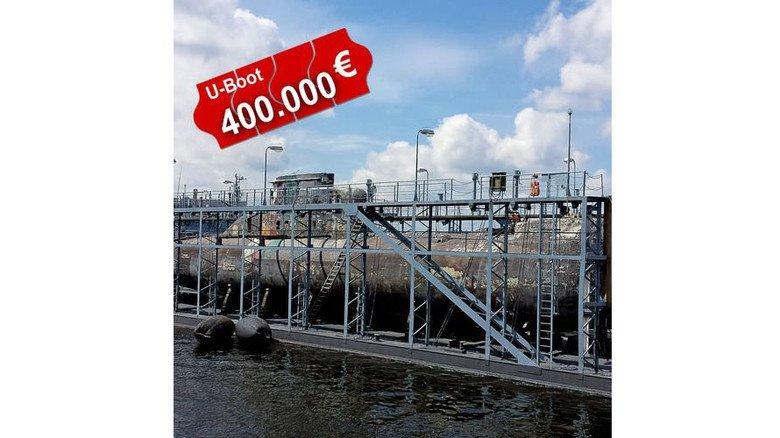 Wertvoll: Das Metall alter U-Boote bringt noch Geld. Fotos: Vebeg, Fotolia