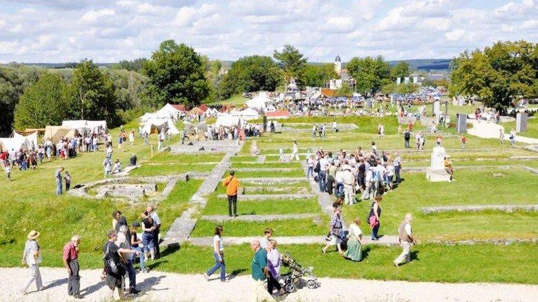 Antikes Spektakel mit Entdeckertour: Kastell Abusina in Eining. Foto: Tourismusverband im Landkreis Kelheim e.V