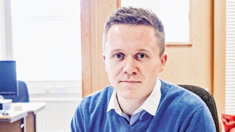Journalist Ralph Hewitt: Fürchtet um die Zukunft seiner Stadt.