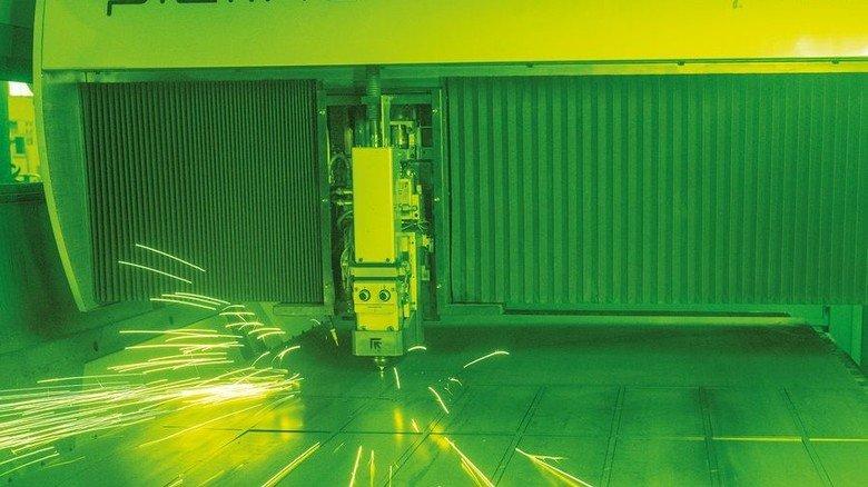 Modernste Technik: Auch Laser kommen in Balve zum Einsatz. Foto: Roth