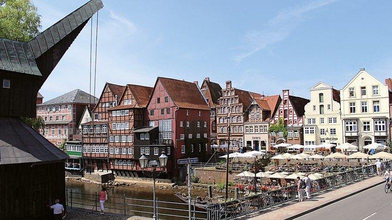 Malerische Altstadt: Gut erhaltene Fachwerkhäuser sind hier keine Seltenheit. Foto: Lüneburg Marketing