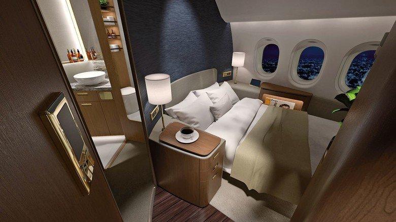 """Komfortabel: Die """"Peacock Suites"""" von Paperclip Design."""