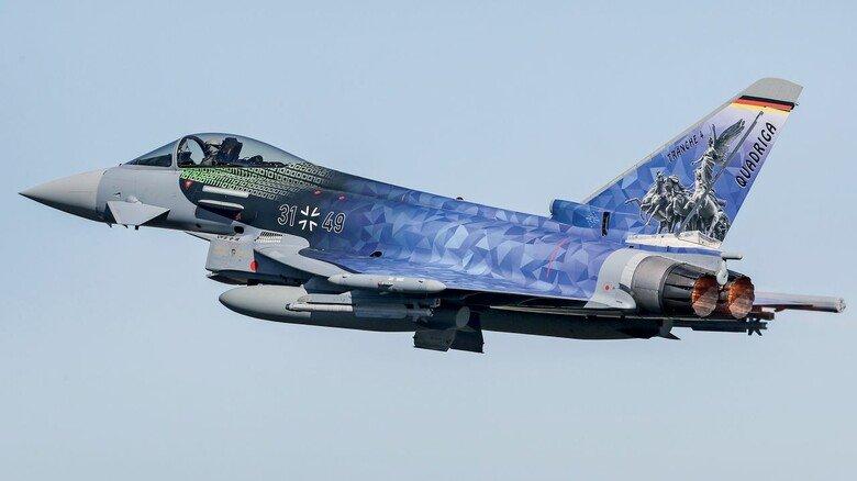 Vielseitig: Der Eurofighter wurde als Mehrzweckkampfjet entwickelt und ist seit 16 Jahren bei der Luftwaffe im Einsatz.
