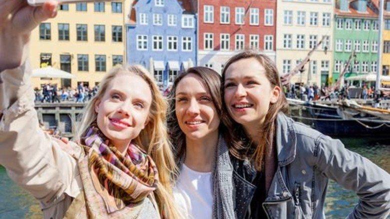 Selfie in Skandinavien: Kurztrip in die dänische Hauptstadt. Foto: iStock