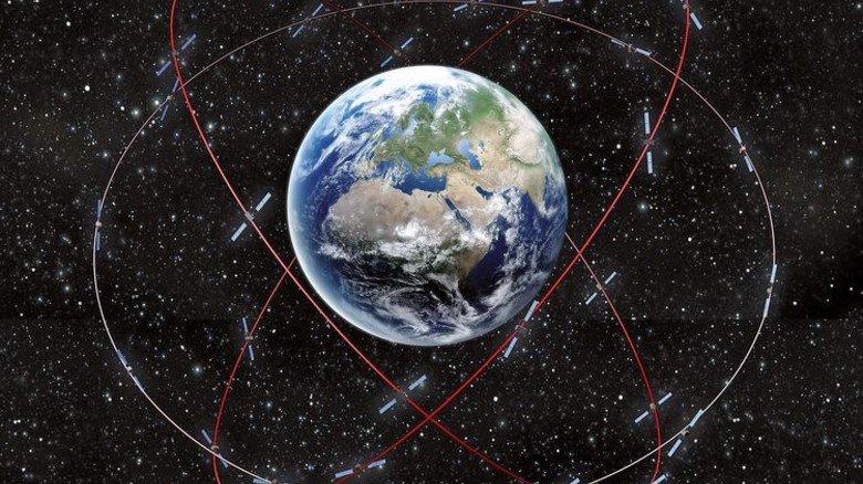 Blick in die Zukunft: 30 Satelliten gehören zum kompletten System. Foto: OBS
