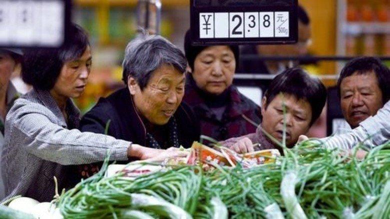 … und eine fundamentale Wachstumsschwäche in China und anderen Schwellenländern. Foto: dpa