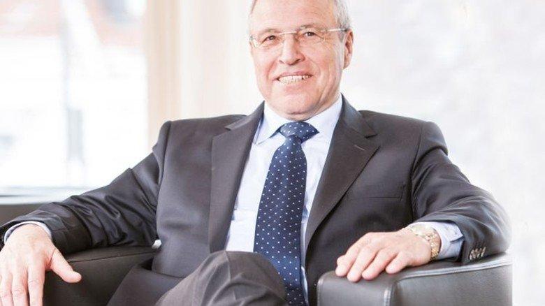 Alfred Gaffal (71) ist Präsident der Vereinigung der Bayerischen Wirtschaft. Dahinter stehen 132 Arbeitgeber- und Wirtschaftsverbände, deren Branchen rund 4,7 Millionen Menschen in Bayern beschäftigen. Foto: Wolf GmbH