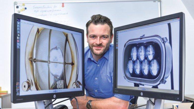 Qualitätsmanager und Leiter der Logistik: Alexander Keibel hat den Überblick über die 4.500 Artikel der Firma Karl Dose. Foto: Christian Augustin