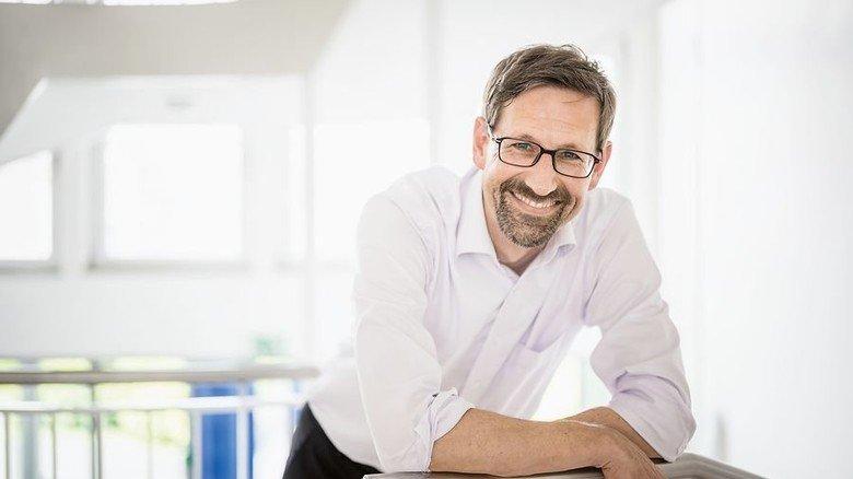 Management: Gideon Rath hat den Innovationsprozess aufgebaut. Foto: Jan Hosan