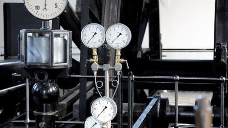 Zeiger, dreht euch! Details einer historischen Fördermaschine. Foto: LWL-Industriemuseum