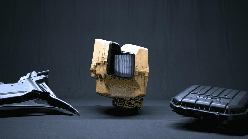 """""""Röchling Bio-Boom"""": So heißt das neue Ökomaterial, das bald für alle Autoteile verfügbar sein soll."""