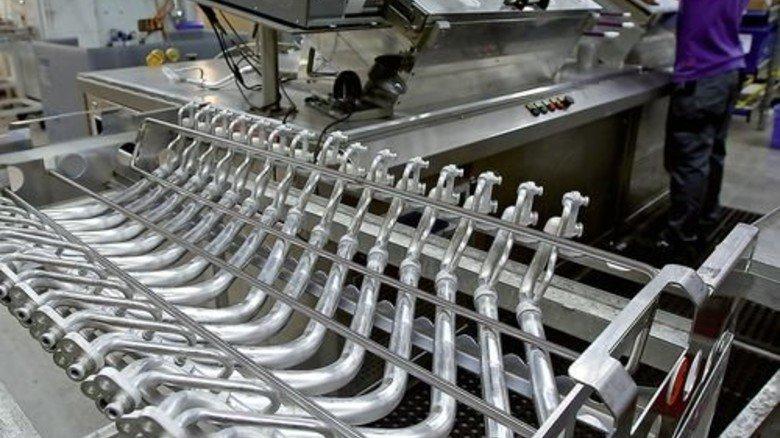 Leitungen für Klimaanlagen: Wegen der vielen Krümmungen ist die Herstellung kompliziert. Foto: Mierendorf
