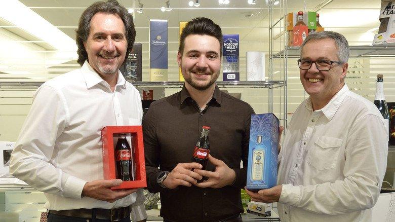 Vorreiter in Sachen Licht: Martin Glatz, Packmitteltechnologe Marius Steeg und Innovationsleiter Thomas Heizmann (von links) treiben bei Karl Knauer neue Ideen voran.