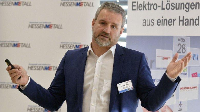 """Thomas Jäger, Chef von  Jäger Direkt in Heppenheim: """"Vernetzte Gebäude können Betriebskosten senken."""""""
