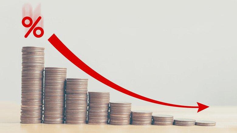 Zinsen auf Talfahrt: Das hat auch Folgen für die Wertentwicklung einer Lebensversicherung.