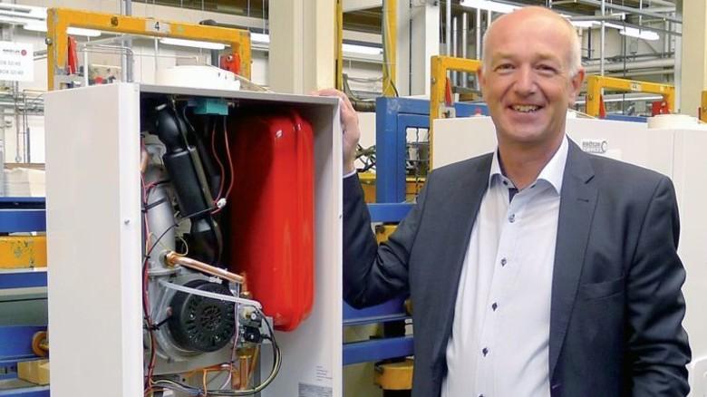 Zufrieden:  Uwe Mehrtens freut sich über die gute Resonanz auf die BGM-Angebote bei Brötje. Foto: Werk