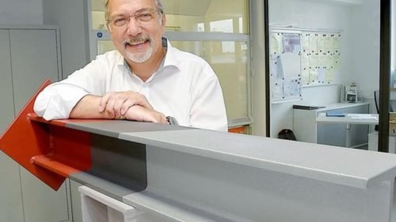 Erfolg mit Korrosionsschutz: Firmenchef Christian Wiemer setzt auf Neuentwicklungen. Foto: Sandro