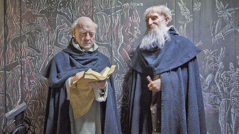 Rückblende: Mönche zu Zeiten der Hanse. Foto: Radbruch