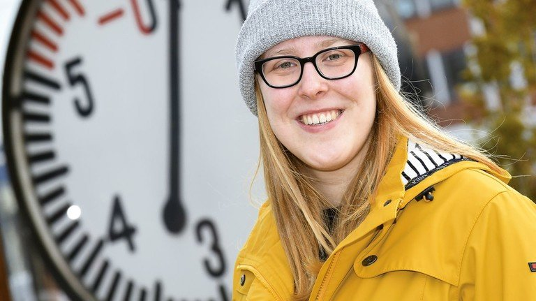 Wahlheimat an der Weser: Lena Blasig wuchs unweit von Stuttgart auf und lebt mittlerweile in Bremen.