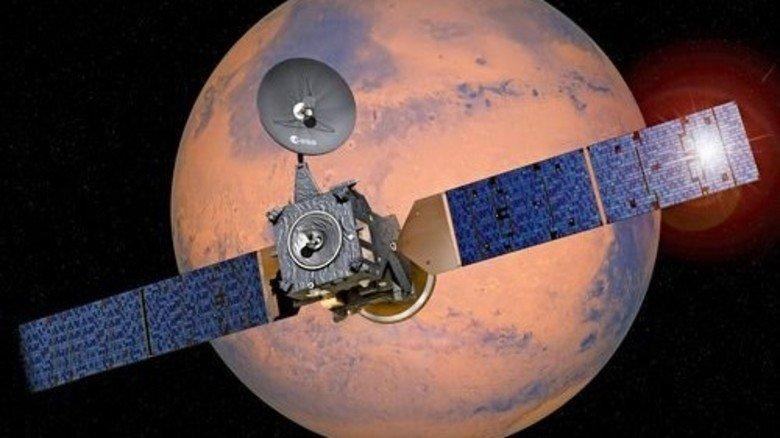 Ist unterwegs: Dieser Satellit spürt Gase in der Atmosphäre auf. Foto: dpa