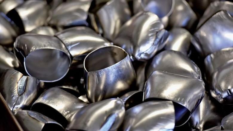 Metallbau: Die Rohlinge aus der Produktion des Familienbetriebs. Foto: Deutsch