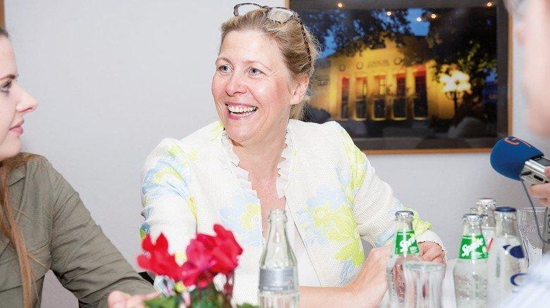 """""""Mein Tag ist zwar lang – aber unendlich spannend"""", berichtet Geschäftsführerin Birgit Weiterer."""