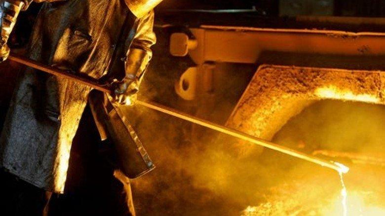 Möglicher Rohstoff: Bei der Stahlproduktion fällt Synthesegas an. Foto: dpa