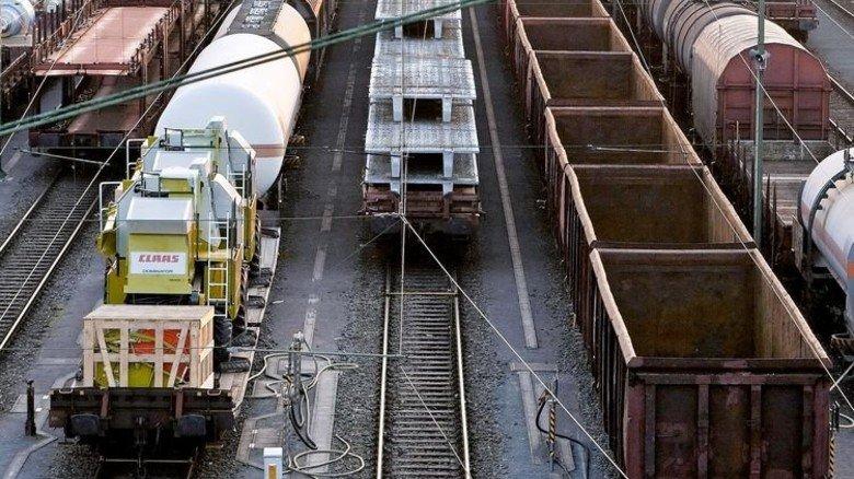 Herausforderung: Bis 2030 soll der Gütertransport per Bahn um 43 Prozent wachsen. Foto: dpa