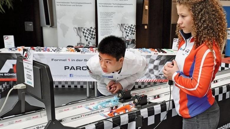 Lieferte sich ein Rennen: Larissa Pirrello bei der Deutschen Meisterschaft. Foto: Veranstalter