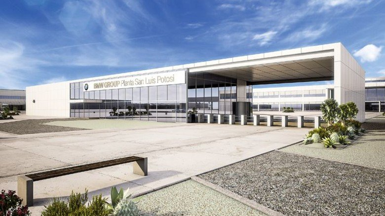 Das neue Werk von BMW in Mexiko (Computersimulation): Hier arbeitet Esther Londrigo aus München. Foto: BMW