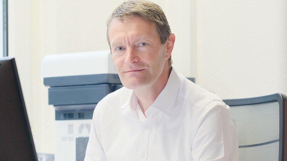 """Dr. Sven Vogt, Geschäftsführer KKT Frölich: """"Die Situation war schon vor Corona schwierig und hat sich nun verschärft."""""""