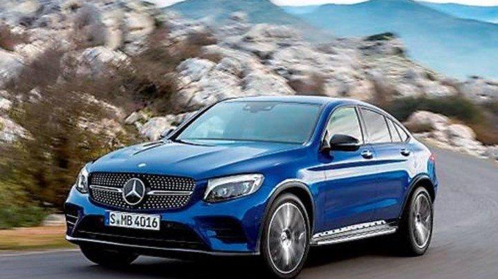 Neu im Programm: Das Mercedes-Benz GLC Coupé wird künftig ebenfalls in Bremen gebaut. Foto: Werk