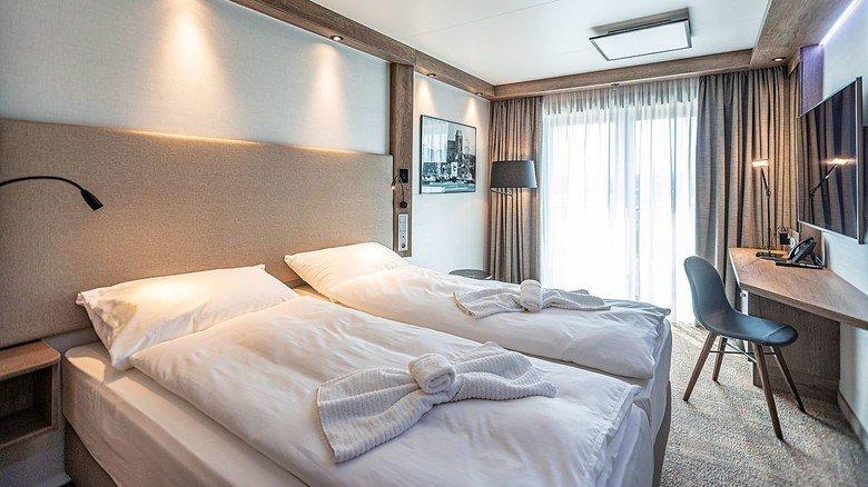 Komfortabel: Die Zimmer sind mit allem ausgestattet, was der Besucher braucht.