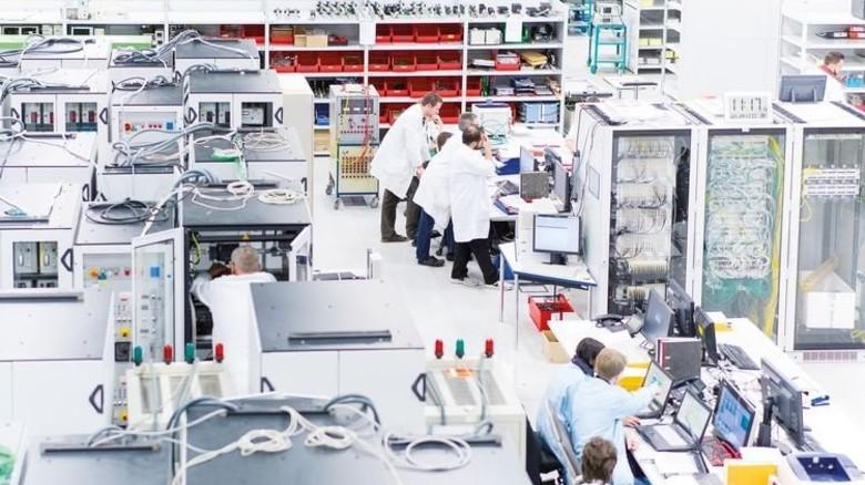 … die zum Beispiel bei Thales in Ulm produziert werden. Foto: Werk