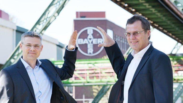 Verstehen sich: Klaus Jelich und sein Nachfolger Holger Weintritt (links). Foto: Werk